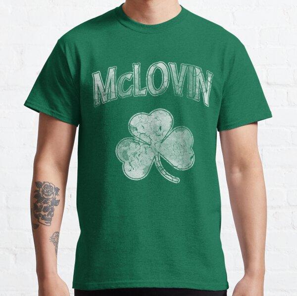 McLovin Irish Shamrock Camiseta clásica