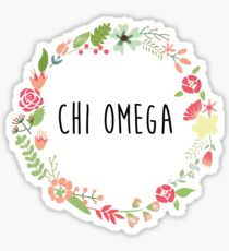 CHIO flowers Sticker