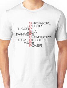 SC text (#1)  Unisex T-Shirt