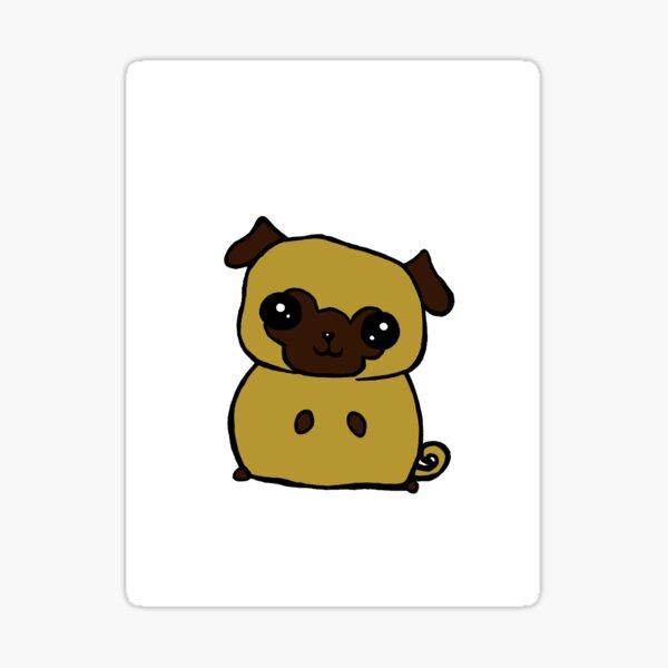 Pugly Sticker