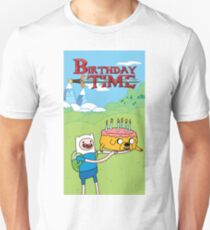 Birthday Time - Adventure Time Celebrations Unisex T-Shirt
