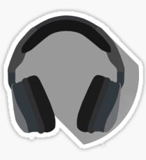 Minimal Headset Sticker