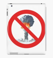 No nuclear explosion tests. iPad Case/Skin