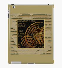 Doily Corner With Quote iPad Case/Skin