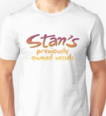 STAN'S PREVIOUSLY OWNED VESSELS Unisex T-Shirt