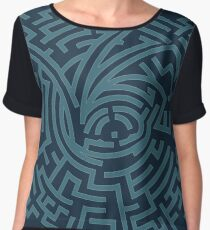 A Series of Unfortunate Events Maze Chiffon Top