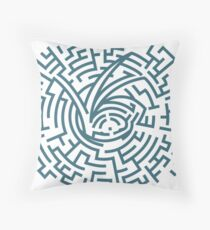 A Series of Unfortunate Events Maze Throw Pillow