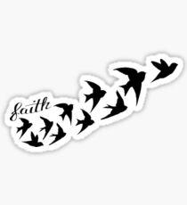 'Faith' Sticker