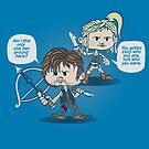 Daryl and Beth by DoodleHeadDee