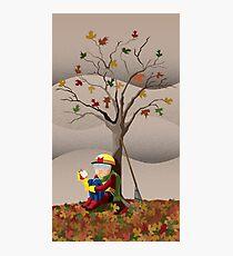 Max Velocity in Autumn Photographic Print