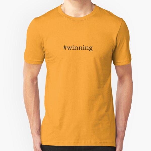 #winning Slim Fit T-Shirt