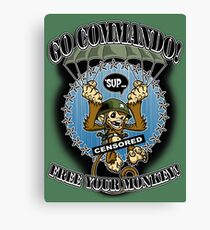 Commando! Canvas Print