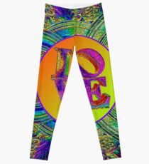 LOVE IN THE TIME OF ART DECO Leggings
