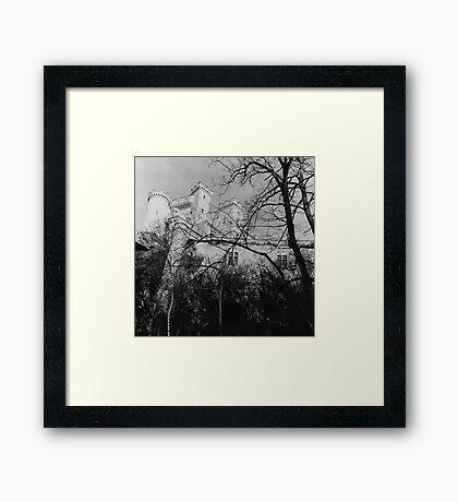 French Chateau Framed Print
