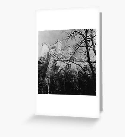 French Chateau Greeting Card