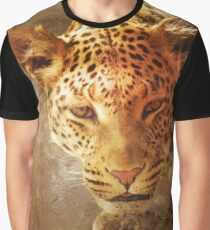 Spotted Leopard Graphic T-Shirt