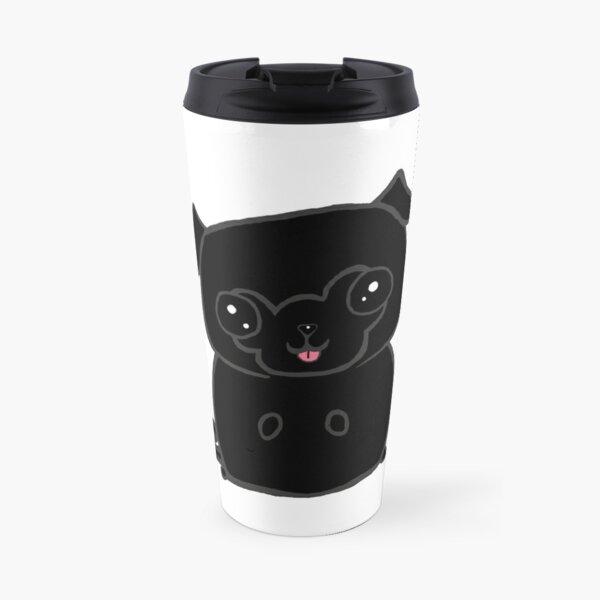 Black Pugly Travel Mug