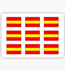 Multiple Number 1 Nautical Flag Sticker