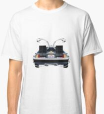 Back to the Future Delorean 'OUTATIME' Classic T-Shirt