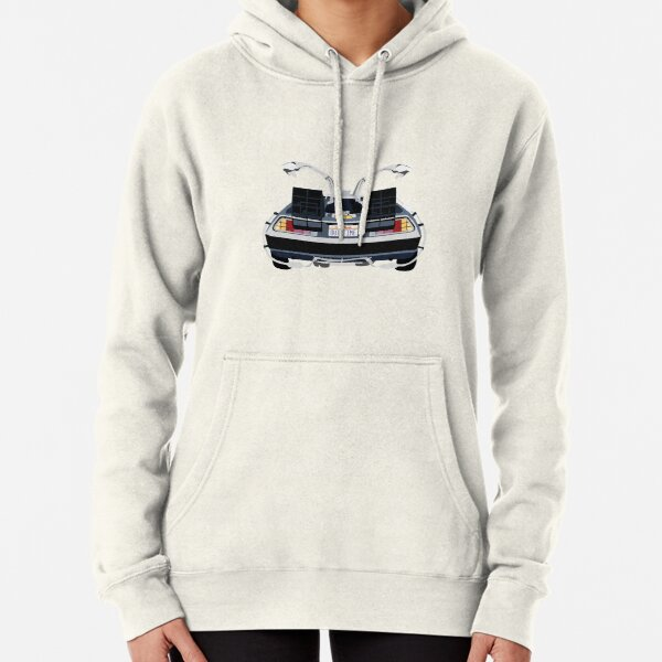 Back to the Future Delorean 'OUTATIME' Pullover Hoodie