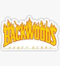 Backwoods Thrasher Hoodie Sticker