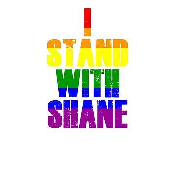 #IStandWithShane Dawson Stop Homophobic Discrimination T-shirt by ravishdesigns