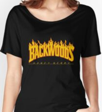 Backwoods Thrasher Hoodie Women's Relaxed Fit T-Shirt