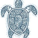 turtle blue iii by MRLdesigns