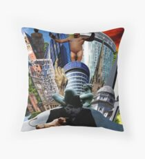 BIRMINGHAM (ENGLAND) TOWERS Throw Pillow