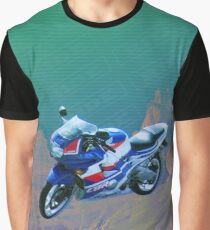 RIDE SERIES CBR_grN Graphic T-Shirt