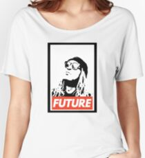 Future obey design Women's Relaxed Fit T-Shirt