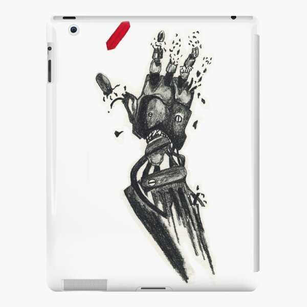 Desinagrading Hand iPad Snap Case