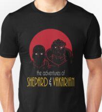 Adventures of BroShep and Vakarian Unisex T-Shirt