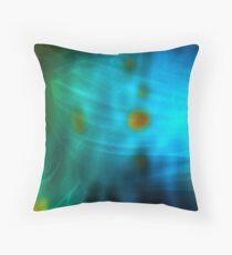 Emerald Amber Throw Pillow