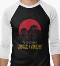 Adventures of FemShep and Vakarian T-Shirt