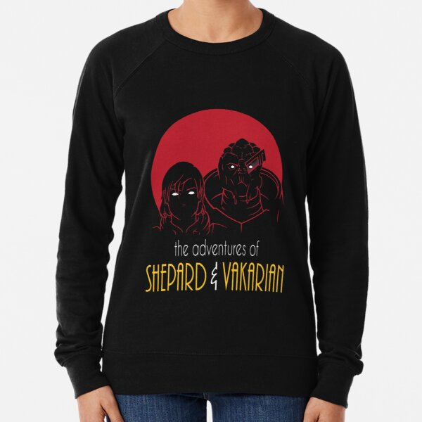 Adventures of FemShep and Vakarian Lightweight Sweatshirt