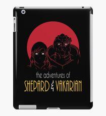 Adventures of FemShep and Vakarian iPad Case/Skin