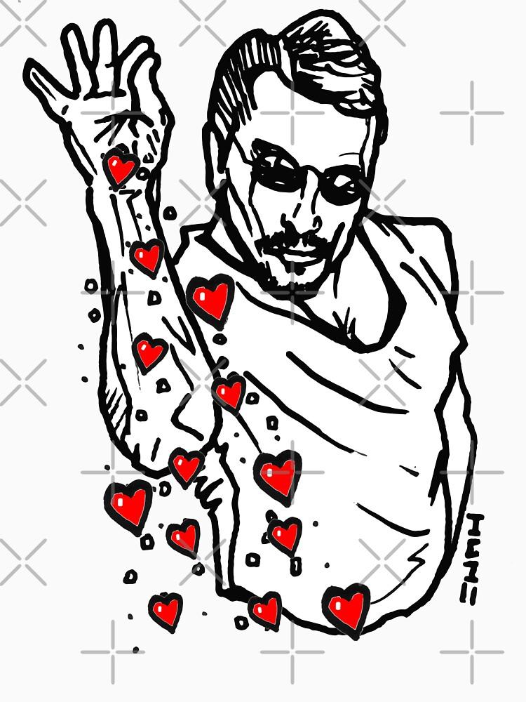 Valentine Hearts Saltbae / Salt Bae Meme by sketchNkustom
