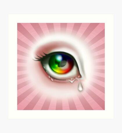 Rainbow Eye - Spectrum Art Print