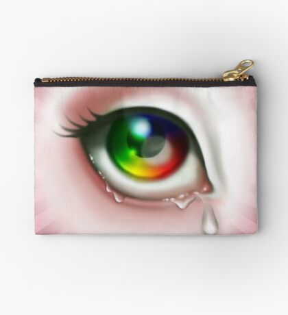 Rainbow Eye - Spectrum Zipper Pouch