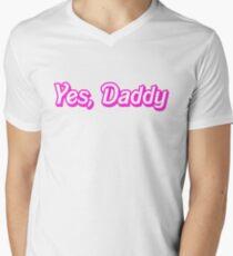 Yes, Daddy Men's V-Neck T-Shirt