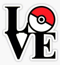 LOVE POKÉMON Sticker