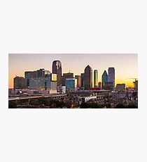 Dallas Skyline Uptown View Photographic Print