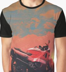 RIDE CBR_sunset Graphic T-Shirt