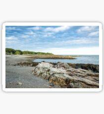 Idyllic landscape in Maine Sticker