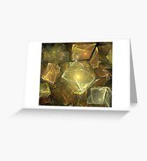 Warm Sun Rocks Greeting Card