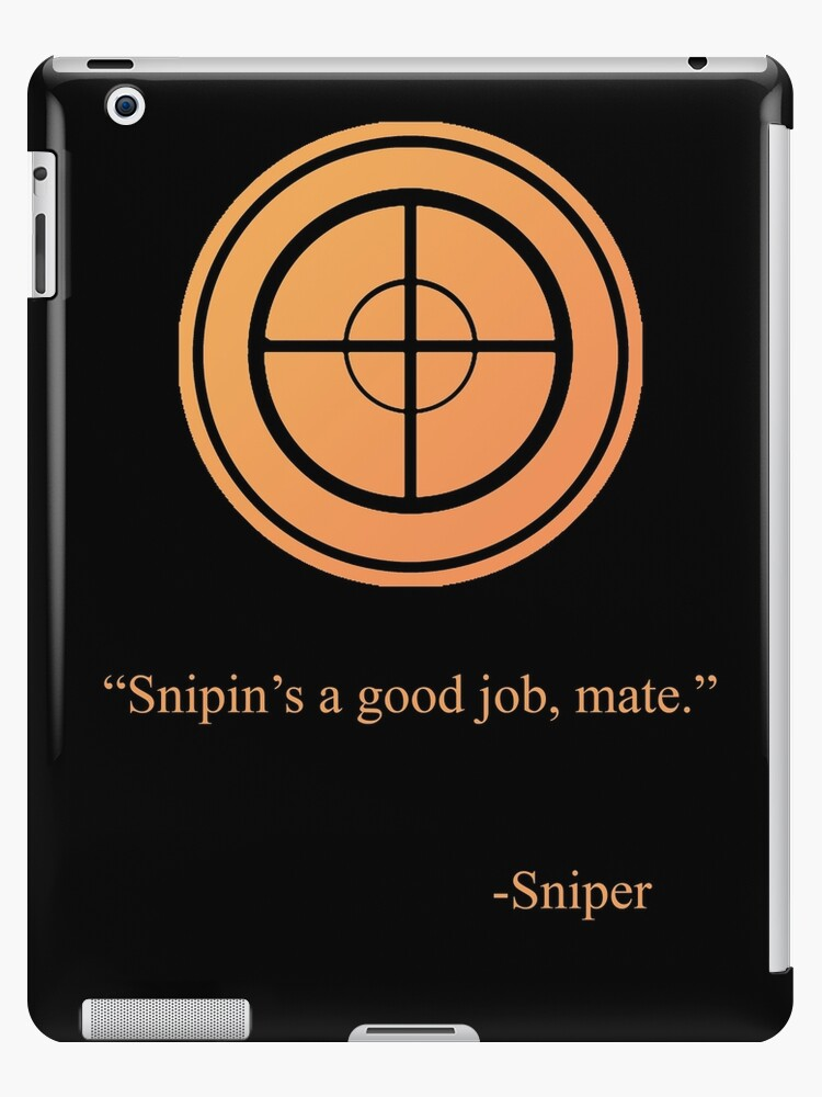 Tf2 Sniper Emblem Ipad Cases Skins By Thenothin10 Redbubble