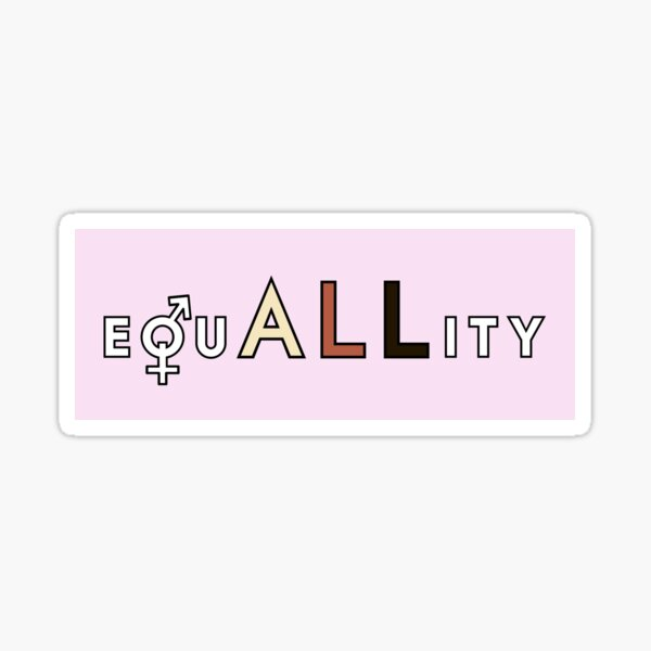 equALLity Sticker