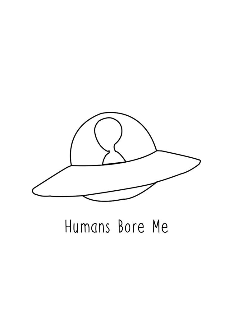 alien spaceship tumblr hipster cute design graphic t shirt by