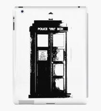 Tardis Noir iPad Case/Skin